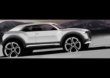 Audi Q1 2016 teaser del 02.12.2013 - Audi