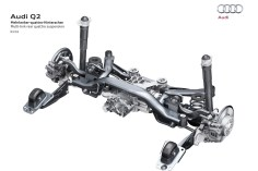 Multi-link rear quattro suspension