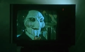 Jigsaw couldn't afford an HD flat screens because he spent his money on gadgets.