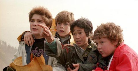 Aliens and Goonies:  Friendship in Children's Adventure Movies