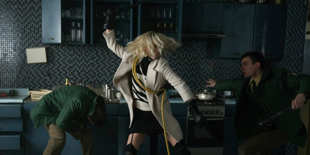 New Atomic Blonde Clip is Extremely Hot