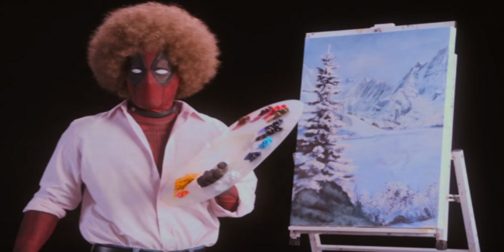 Ryan Reynolds Channels Bob Ross in Deadpool 2 Teaser