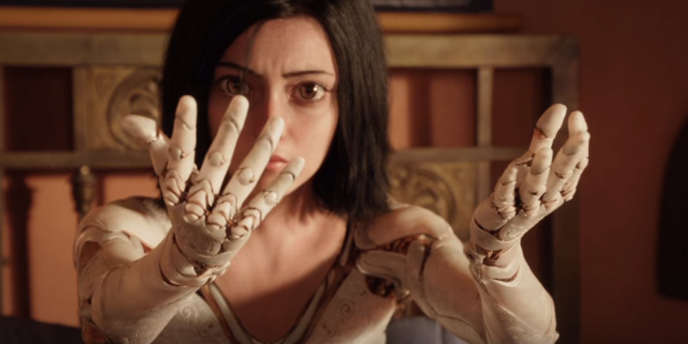 The first 'Alita: Battle Angel' trailer is a real eyeful