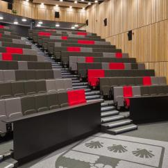 Desk Chair Fabric Folding Wood Beach Plans University Of Reading: Lecture Theatre Seating For Morgan Sindall - Audience Systems