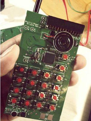 Primer smartphone para ciegos