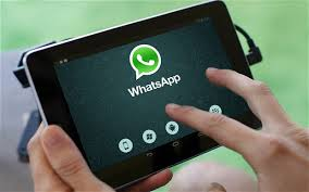 WhatsApp en tableta Android
