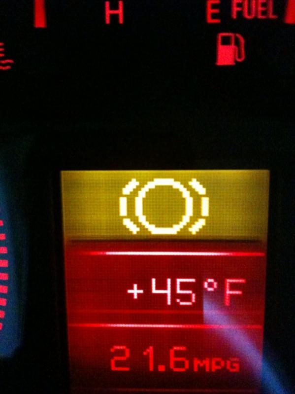dashboard warning light question what it means