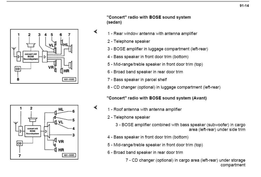 medium resolution of need help wiring radio 2000 a4 bose radio jpg