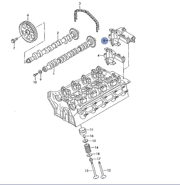 A Camshaft Position Actuator Control Circuit Low (Bank 1