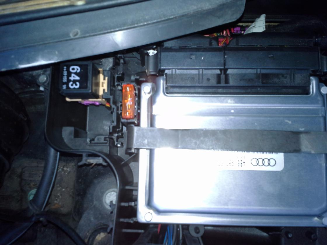 2006 Audi A4 Fuse Box Location No Power Coming From The Wire That Goes To The Sai Pump