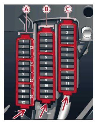 2014 a4 fuse box map wiring diagram - 2006 audi a4 fuse box