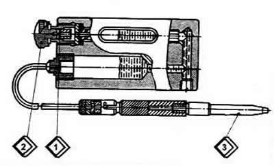 Проверка герметичности соединений трубопрводов и приборов