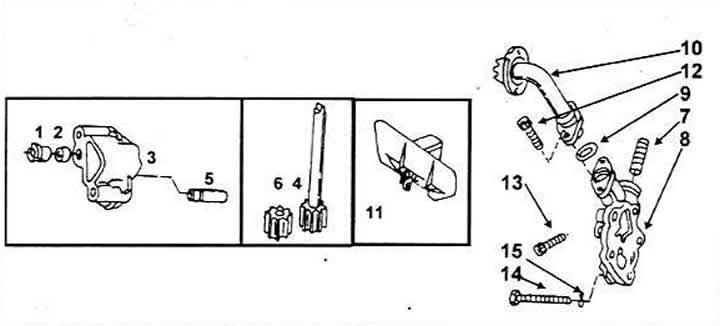 Масляный насос (Ауди 100 С4, 1990-1994, Система смазки)