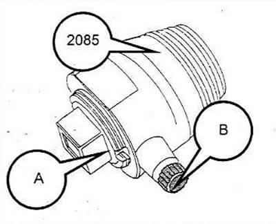 Замена сальника распределительного вала (Ауди 100 С4, 1990