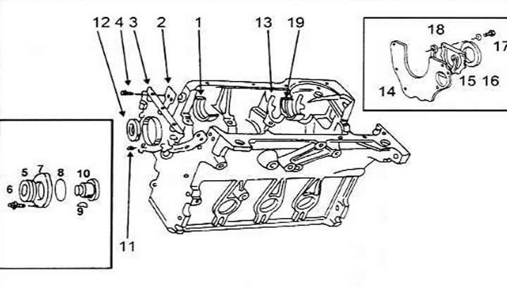 Блок цилиндров (Ауди 100 С4, 1990-1994, Ремонт двигателя)