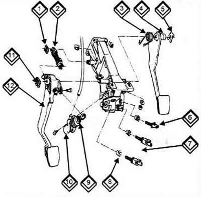 Система гидропривода (Ауди 100 С4, 1990-1994, Сцепление)