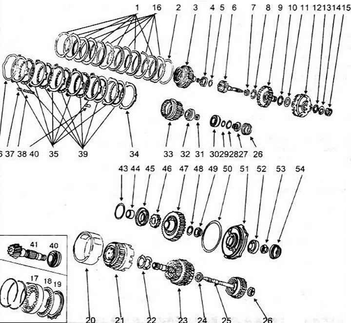 Общеее устройство автоматической коробки передач (Ауди 100