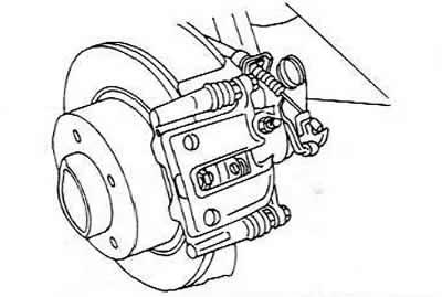 Стояночный (ручной) тормоз (Ауди 100 С4, 1990-1994