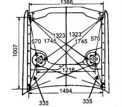 Общее описание деталей кузова (Ауди 100 С4, 1990-1994