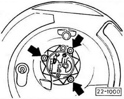 Снятие и установка воздушного фильтра (Ауди 80 Б3, 1986