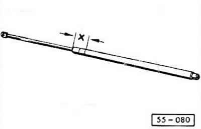 Снятие и установка капота (Ауди 80 Б3, 1986-1991, Элементы