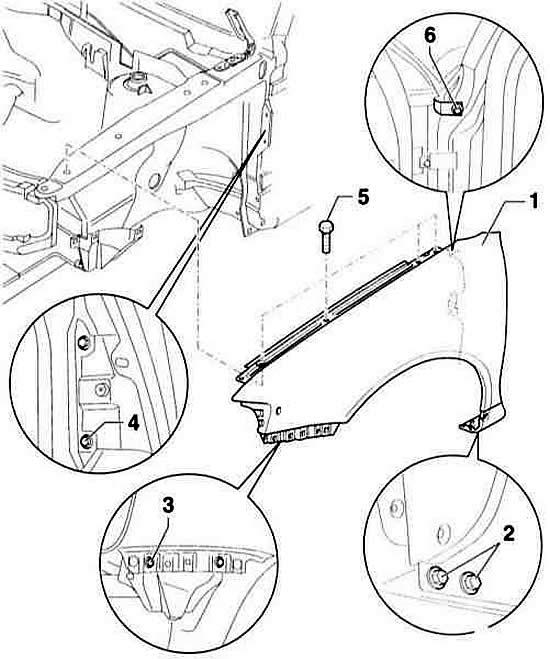 Экстерьер (наружные элементы) автомобиля Ауди А3