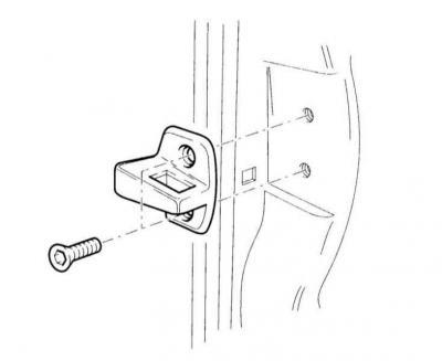 Регулировка двери (Ауди А3 Typ 8L, 1996-2003, Двери