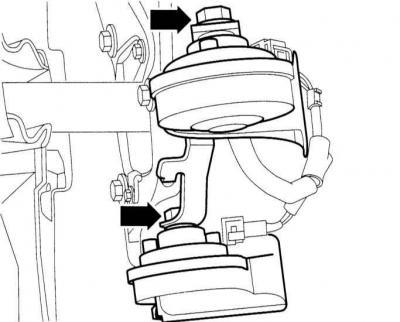 Снятие, установка и проверка звукового сигнала (Ауди А3