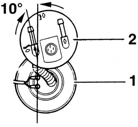 Демонтаж бензинового насоса с электроприводом (Ауди А4 Б5