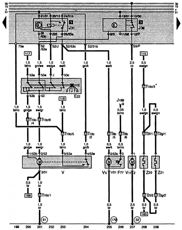 Выключатель стеклоочистителей с прерыв. режимом, системы