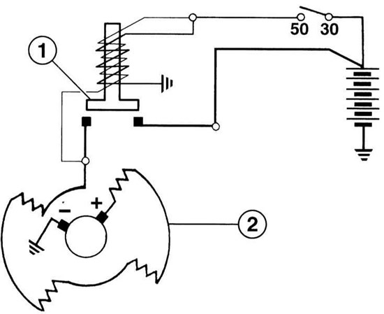 Проверка системы запуска двигателя (Ауди А4 Б6, 2000-2006