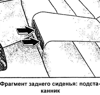 Подстаканники (Ауди А6 С5, 1997-2004, Инструкция по