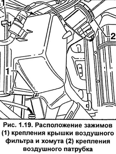 Воздушный фильтр (Ауди А6 С5, 1997-2004, Техническое