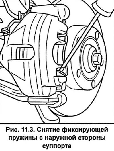 Тормозная система автомобиля Ауди А6, модификация С5 (1997