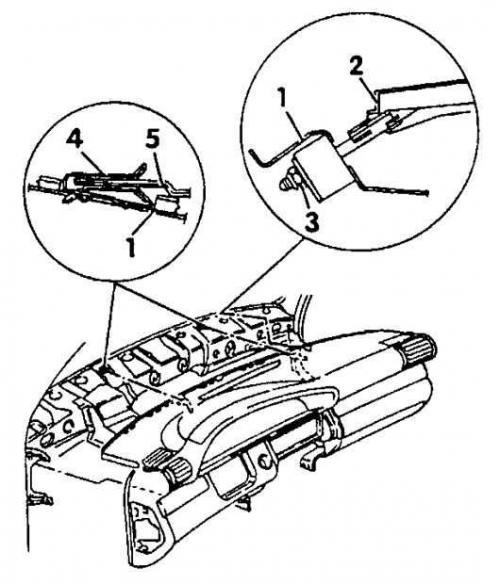 Панель приборов (Ауди А6 С4, 1994-1997, Интерьер