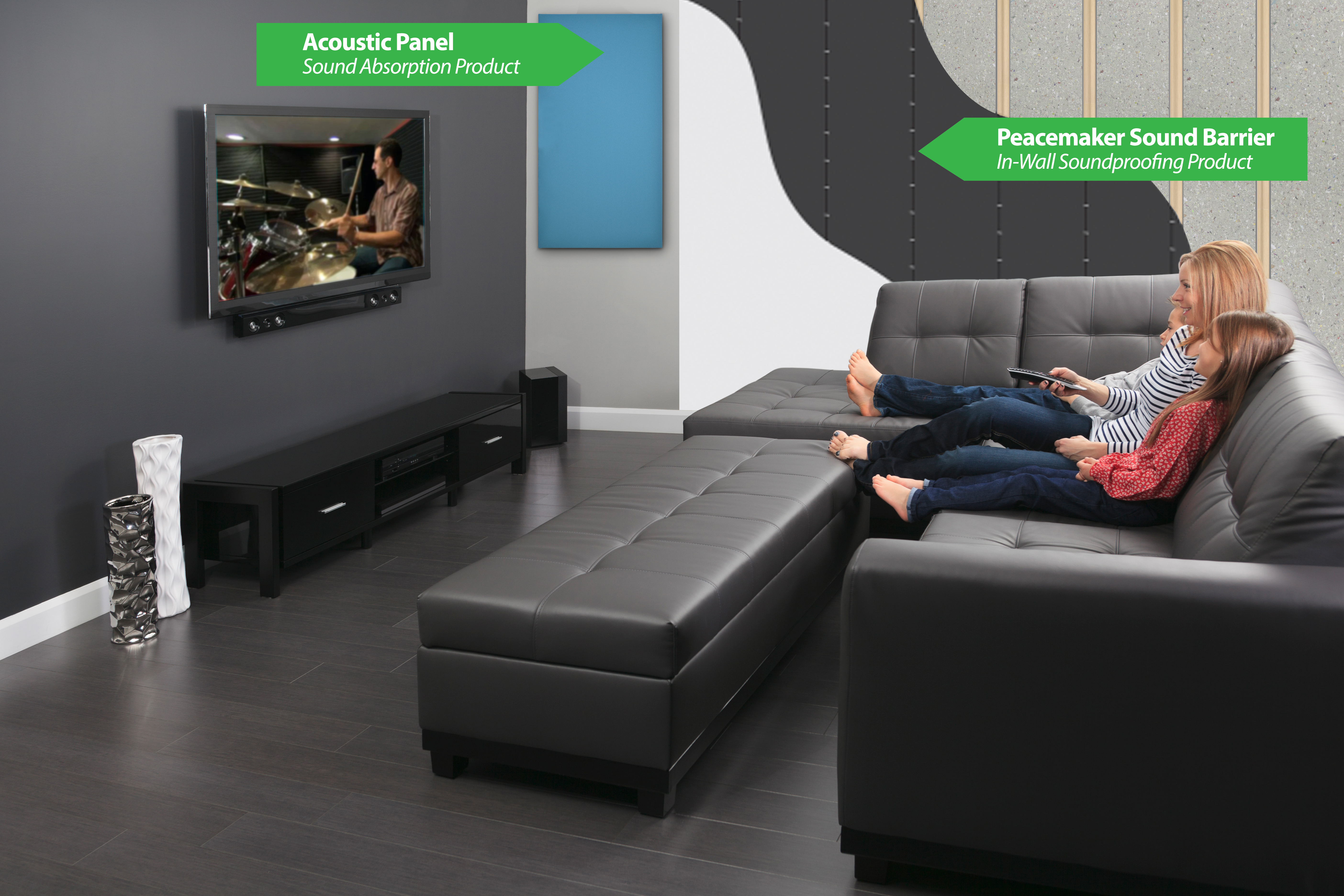 soundproof living room decor to match brown sofa soundproofing vs sound absorption
