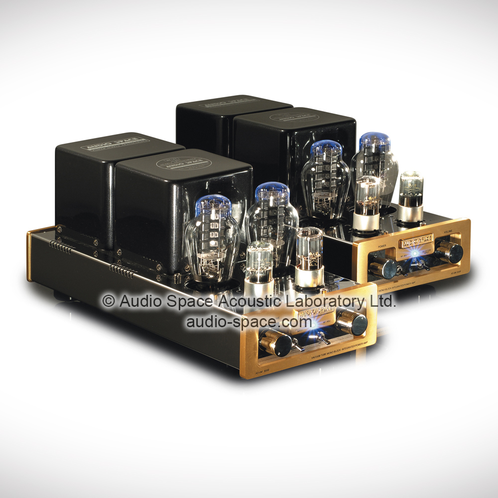 AS-6M (300B) PP   Mono Block Tube Integrated Amplifier