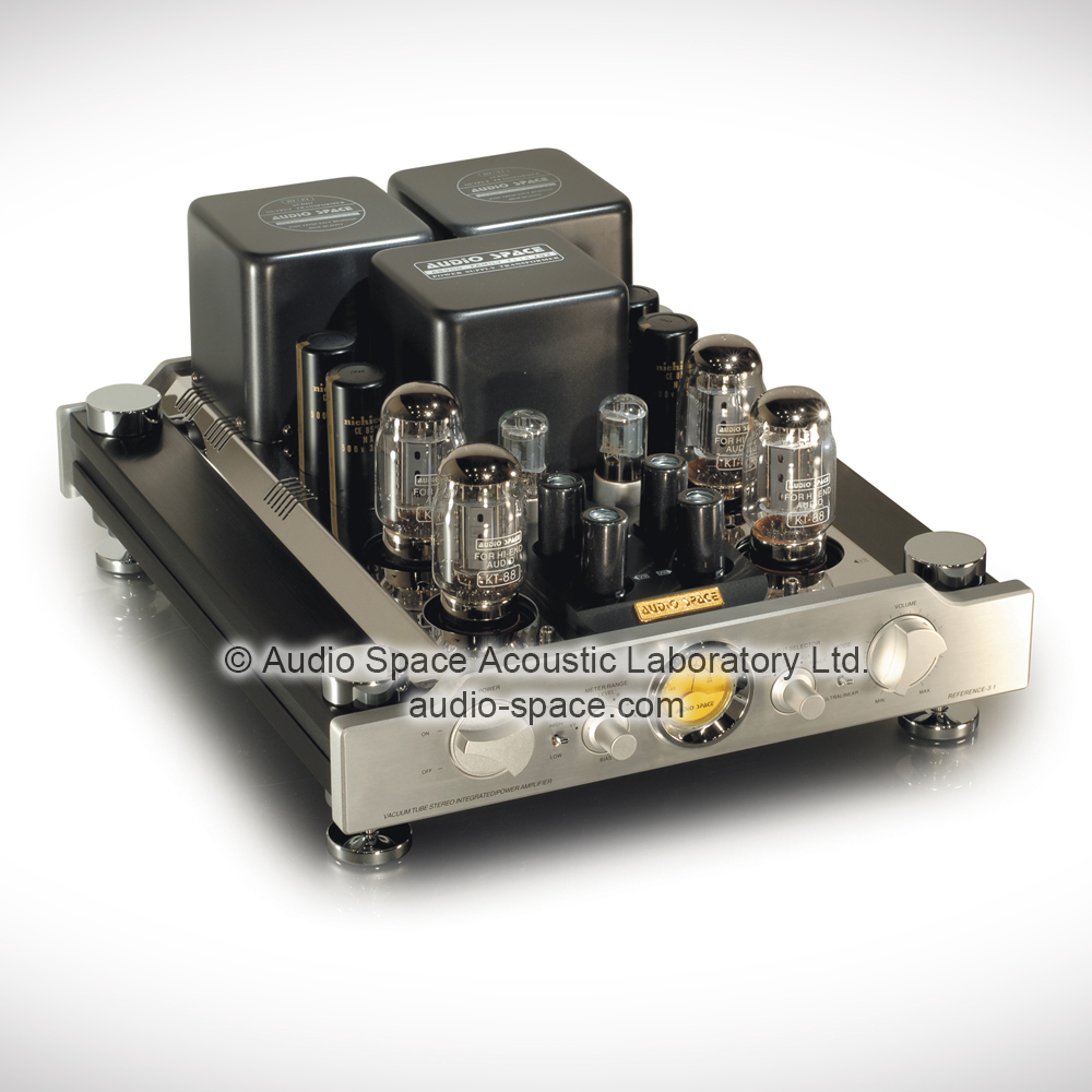 Reference 3.1 (KT88)   Stereo Tube Integrated Amplifier