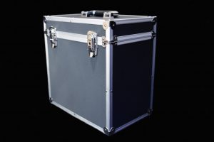"Black 12"" Storage Case"