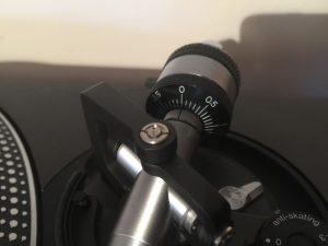 Technics SL-1210 Counterweight set to zero