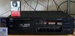 Yamaha KX-580 with Tapes