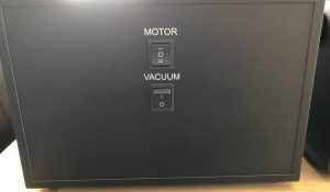 Pro-Ject VC-S MK II Switch Labeling