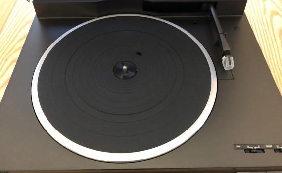 SL-L20 Open Lid Platter View