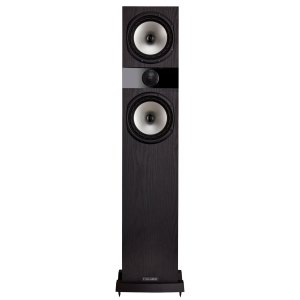 F303 Front Black Large Floorstander