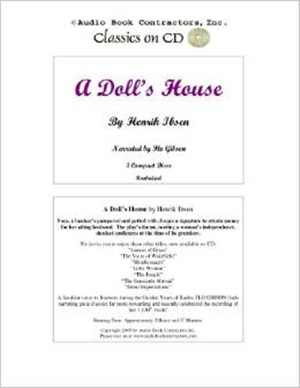 A DOLLS HOUSE By HENRIK IBSEN Free Audiobook