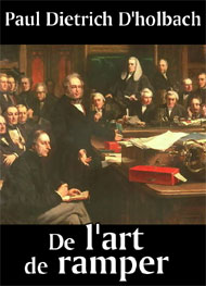 Illustration: De l'art de ramper - Paul dietrich D'holbach