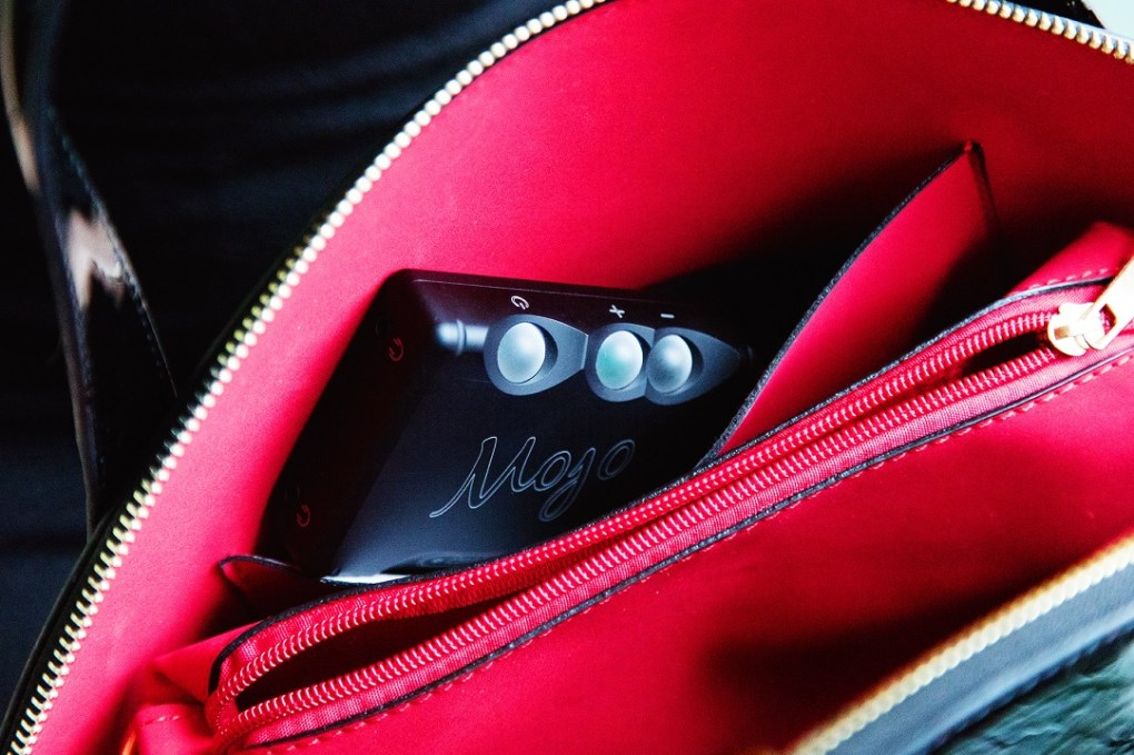 Chord Electronics Mojo With Poly in the Pocket