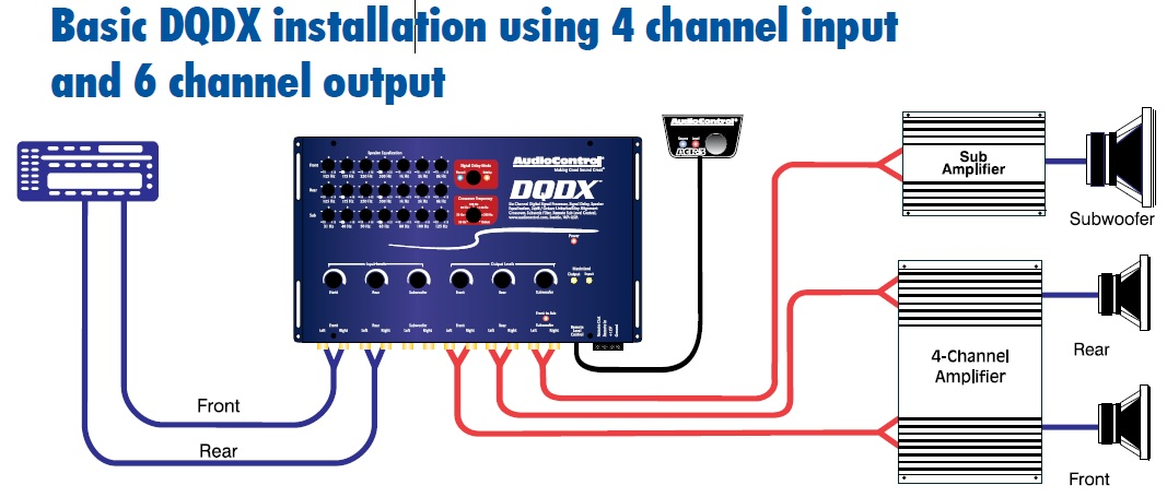 pro audio wiring diagrams photocell diagram with contactor car application - audiocontrol