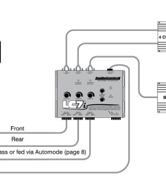 car application diagrams audiocontrol car stereo wiring diagrams  [ 1457 x 677 Pixel ]