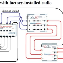 Wiring Diagram Car Audio Speakers Drum Switch Application Diagrams Audiocontrol
